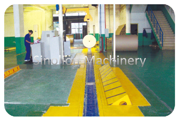 V-type slat conveyor