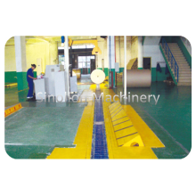 Top for Vee Slat Conveyor Paper Reel Conveyor Handling System export to Malaysia Supplier