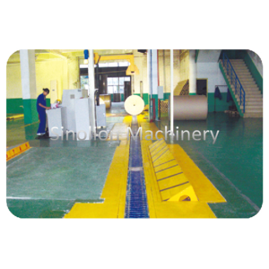 Hot selling attractive for Vee Slat Conveyor Paper Reel Conveyor Handling System supply to Georgia Supplier