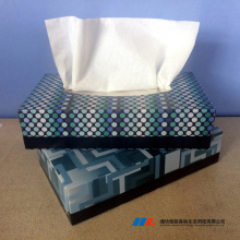 Soft and white 2 ply virgin facial tissue