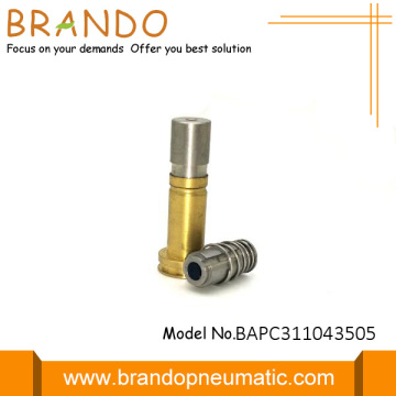 Copper Yellow Solenoid Valve Stem Diameter Is 43.5mm