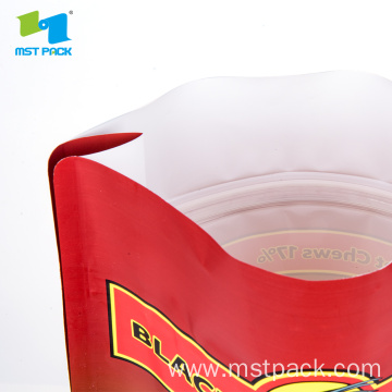 Plastic Flat Bottom Pet Food Bag
