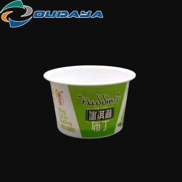 80ML Popular Custom Plastic pudding cup