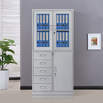 High quality factory for Storage Cupboard Durable Metal Office Cupboard with 5 drawers supply to Andorra Suppliers