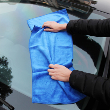 thick microfiber drying car towel