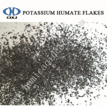 high soluble potassium humate flakes