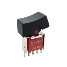 UL IP67 Waterproof On Off On Rocker Switch