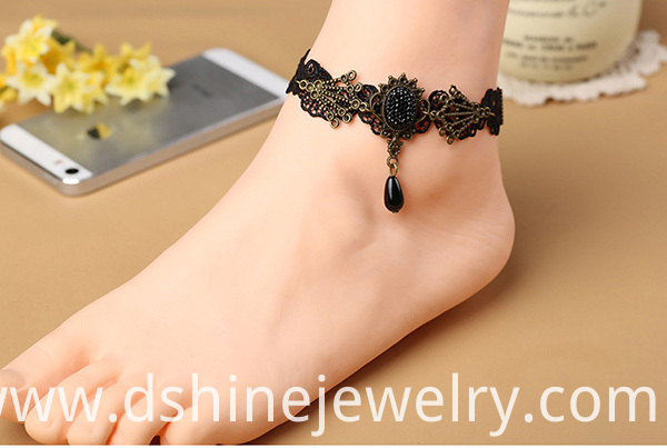 Lace Anklet Bracelet Party Jewelry