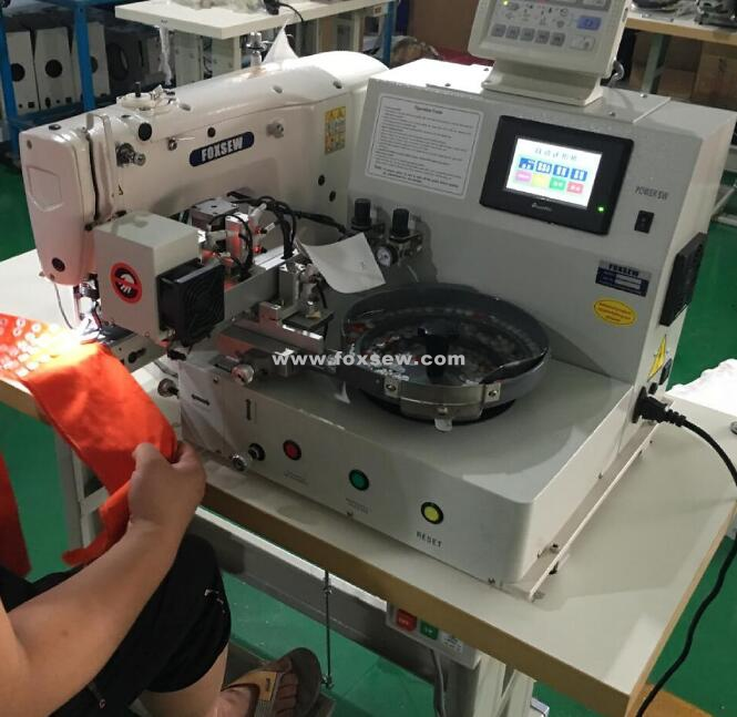 Automatic Feeding Button Sewing Machine