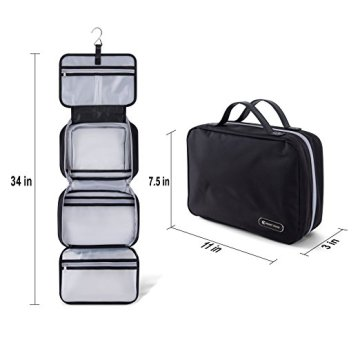 Waterproof Folding Hanging Travel Toiletry Cosmetic Bag