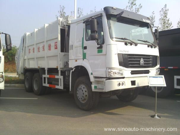 4m3 Sweeper Garbage Compactor Truck