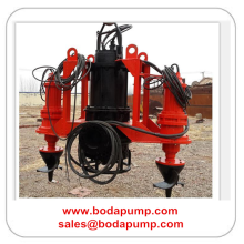 River Sand Submersible Cutter Suction Slurry Pump