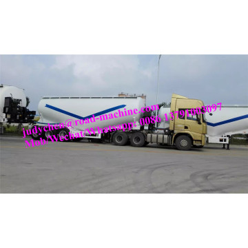 CIMC 3 axles 55m3/60000kg cement bulk semi trailer