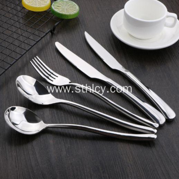 Thickened Light Stainless Steel Cutlery Spoon