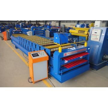Roofing Sheet Color Coil Double Forming Machine