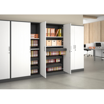 Roll door cabinet tambour door cupboard
