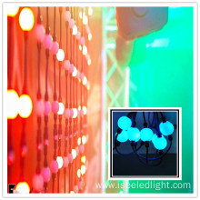 Colour changing RGB hanging curtain 360 ball events