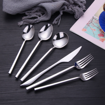 10 Pcs Cutlery Stainless Steel Reusable Sterling Silverware