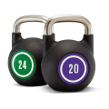 Coated Kettlebell with Steel Handle