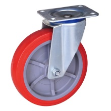 High quality factory for Heavy Duty Wheel Caster 200kg swivel caster with pu wheel supply to Cuba Supplier