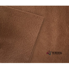 Top Quality Garment Plain Dyed Fleeced Wool Fabric