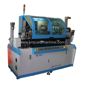 Smart Card Slot Milling and Chip Embedding Machine