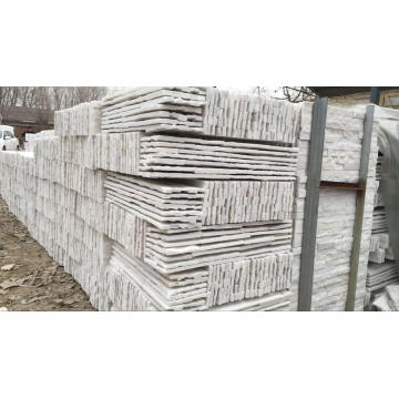 White quartz natural wall cladding ledge stones