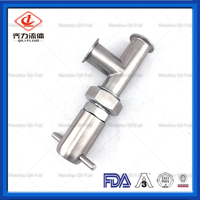 Sanitary Clamp Tee Connection Relief Valve