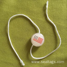 PVC layer plastic seal tags for clothing