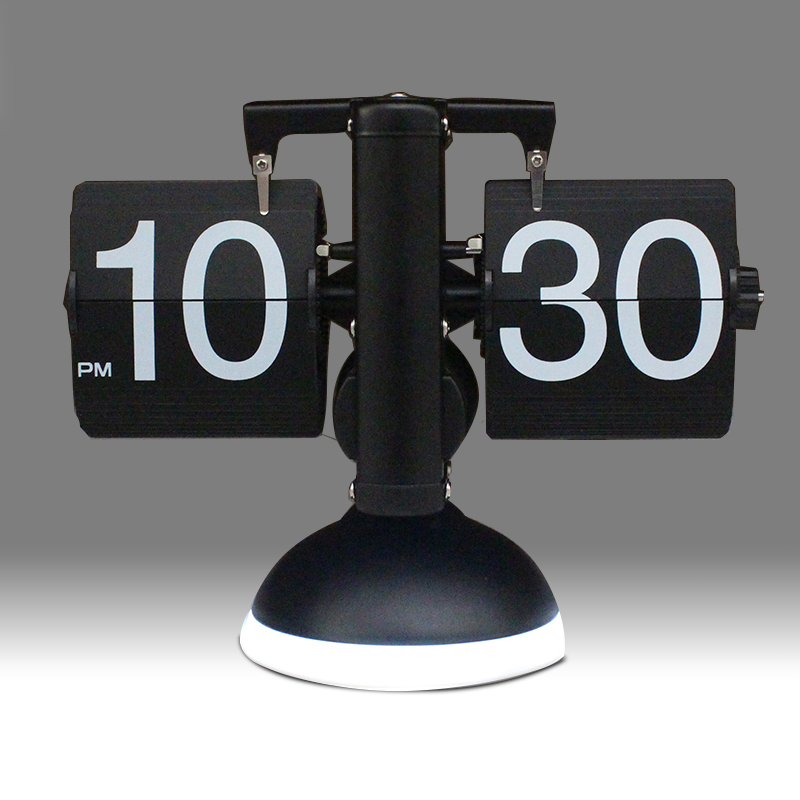 Table Clock With Led Light