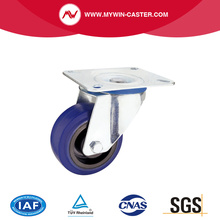 Swivel Bule Rubber Europe Type Industrial Caster