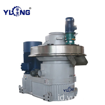 YULONG XGJ560 1.5-2TON / H Mesin press pelet limbah kertas
