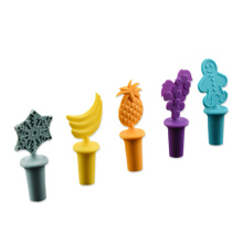 Multi Color Silicone  Beverage Bottle stopper