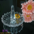Creative Crystal Glass Ring Holder For Jewelry