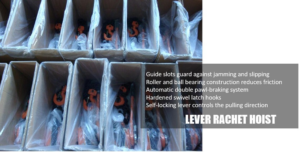 lever block packing