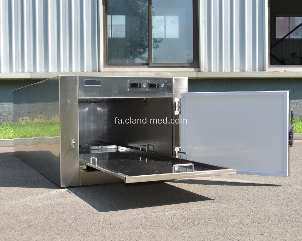 Good Price Mortuary Freezer One Corpse Body Refrigerator