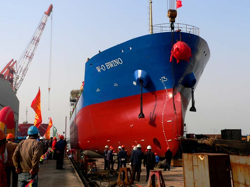 Ship Launching Air Bags