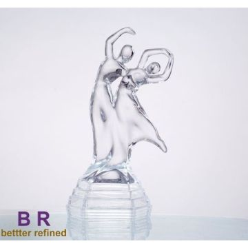 Best Quality for Glass Statues Decorative Crystal Glass Dancer for Home supply to Estonia Manufacturers