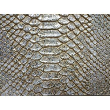 Snake Python print PU leather
