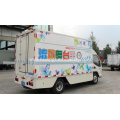 Mobile Loudspeaker Van With LED Screen