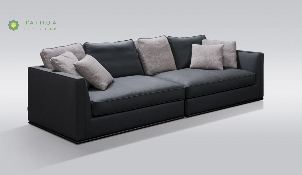 4 Seater Sofa Leather Cushion