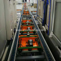 Adjustable Height Mobile Double-Speed Chain Belt Conveyor