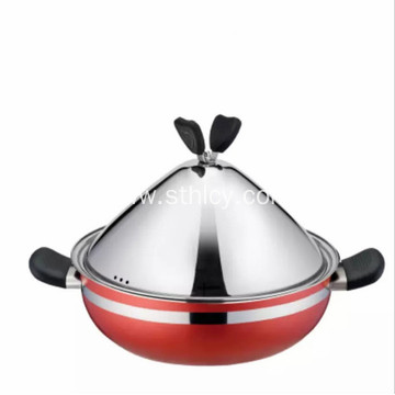 Large Capacity 28cm Stainless Steel Multi Purpose Pot