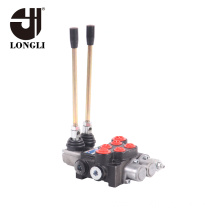 High Quality for Hydraulic Monoblock Control Valves 2P40 Longli 2 Spool Hydraulic Directional Control Valve export to Saint Kitts and Nevis Wholesale