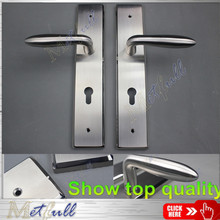 European Modern Stylish Door Handle on Plate