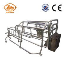 Factory directly sale for Pig Farrowing Crate Automatic Welding Galvanized Tube Farrowing Cages For Sow export to Swaziland Factory