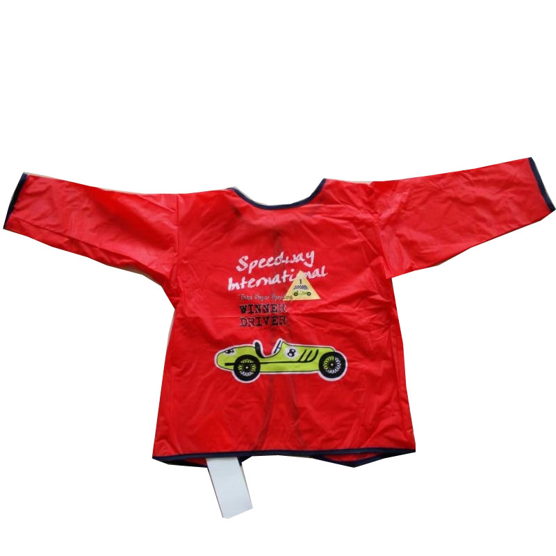 red car child apron