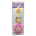 Easter fresh flower shape bunting flag