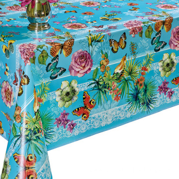 Pvc Printed fitted table covers Piece Table Runner