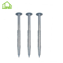 Hot Galvanized Ground Screw in Solar Energy Systems